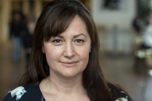 Zophia Zander Norell är idag rektor på Rydskolan i Skövde. I höst blir hon barn- och utbildningschef i Tibro kommun. Foto: Janne Andersson