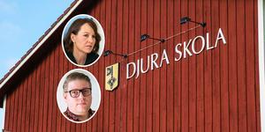 En oenig kommunstyrelse föreslår fullmäktige att lägga ner Djura skola.