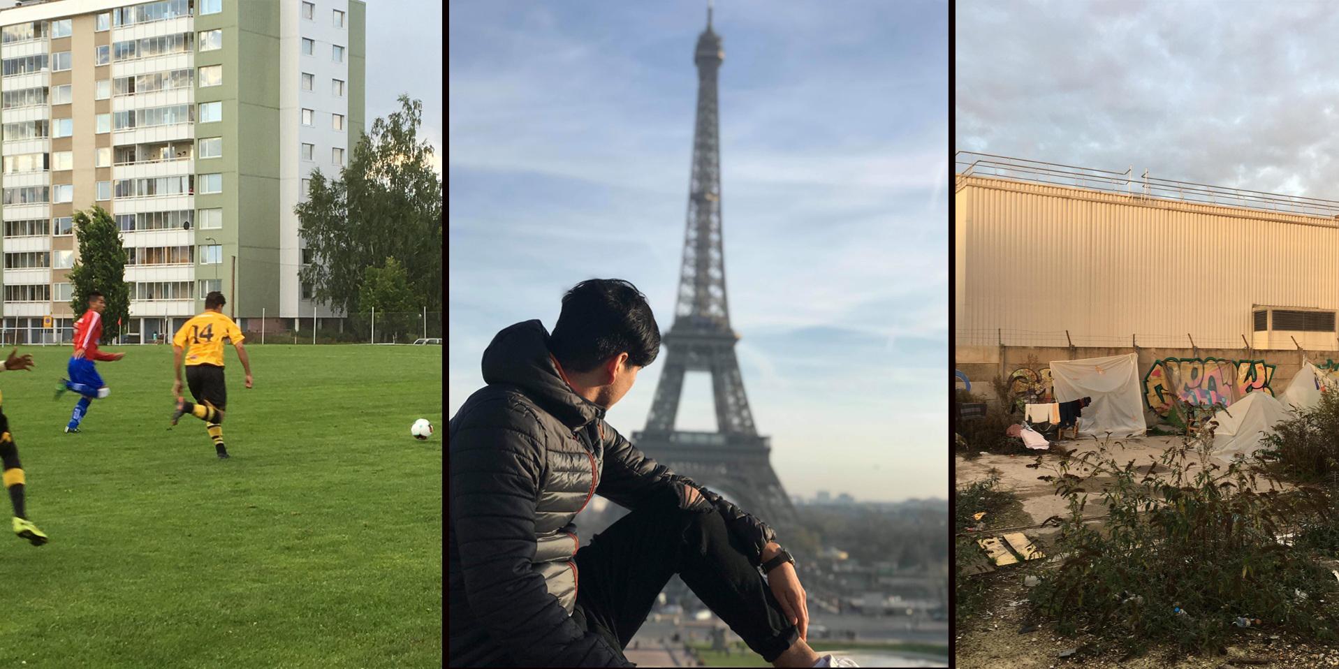 Efter två år i Dalarna lever Faisal, 19, som hemlös i Paris – ''Frankrike är en andra chans, en plan B''