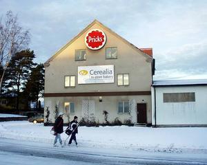 Pricks pepparkaksfabrik i Tierp.  Foto: Conny Svensson