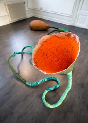 Taltratt, installation av Ina Palm.