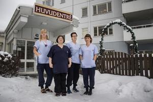 Sara Persson, Alexandra Kaczorek, Marianne Harryson och Kristin Jonsson har många frågor de vill ha svar på.