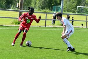 Patricio Quinonez Gomez var pigg på Anundsjös högerkant.