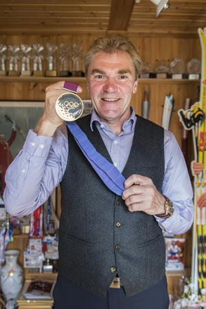 OS-guldet är en av många stora framgångar i Vladimirs liv.