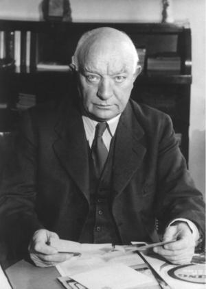 Per Albin Hansson, svensk statsminister 1936-46.Foto: Scanpix