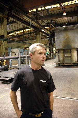 REKRYTERAR. Det har gått bra att hitta kompetent personal, berättar Markus Mäki, Flödesledare vid Färdigställningen.