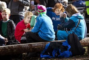 Barnen sattes många gånger i fokus.