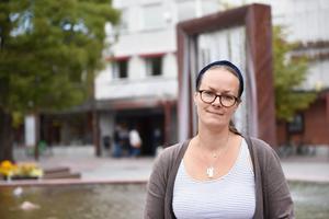 Nina Källmodin är från Malung, men jobbar som bibliotekarie i Mora.
