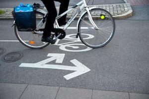Behovet av cykelvägar finns i hela länet. Foto: TT