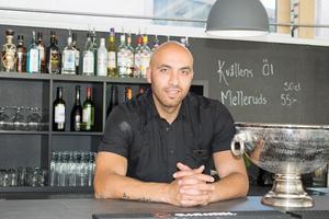 Ali Habibpoor är en av de nya ägarna till restaurang Kopparhatten.