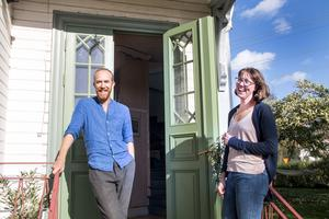 Egentligen var det missionshuset i Torsåker som Andrea och Mats hade tänkt köpa. Men i stället blev det Blixtens kåk - ett makalöst hus med torn på taket.