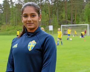 Vinita Roth, Dalarnas fotbollförbund. Foto: Privat