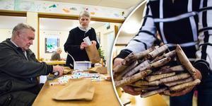 Tack vare många timmars ideellt arbete och gåvor från företag kan gubbgöra och stickkafé i år skicka iväg 800 julklappar till barnen i Lettland.