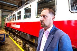 Inlandsbanans vd Peter Ekholm säger att de nya tågen väntas komma till Sverige under vårvintern. Att han i dag inte vet var de ska sättas i trafik är inget som oroar.
