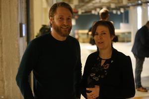 Miljöpartisterna Lars Greger och Hanna Klingborg.