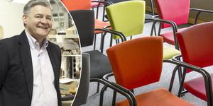 Lennart Tranback har drivit Officeline i 35 år. Foto: Carina Albin/pressbild