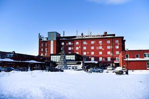 Högfjällshotellet i Sälen, spelplats för den säkerhetspolitiska debatten.