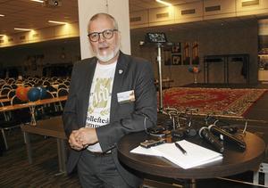 Näringslivschef Thomas Östlund gläds över resultatet i Svenskt Näringslivs enkät som visar att företagsklimatet har blivit bättre i Sollefteå. Foto: Jörgen Sundin/arkiv