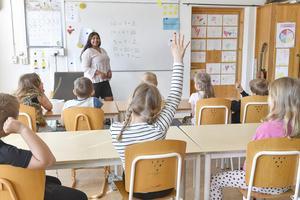 Det nyligen klubbade läraravtalet är viktigt för att vända en nedåtgående trend, skriver Lina Hading, LR Stud. Foto: Jonas Ekströmer / TT