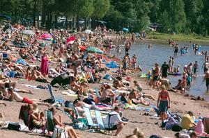 Den svenska kronan står sig dåligt mot andra valutor i sommar. För semesterfirande svenskar är detta dåliga nyheter. Foto: Roland Berg.