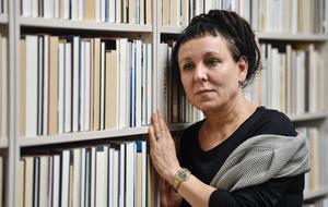Olga Tokarczuks författarskap kretsar kring psykiatrikern Carl Gustav Jungs tanke om att vi alla djupast sett är förankrade i ett kollektivmedvetande gestaltat i arketyper. Foto: Martin Meissner/AP