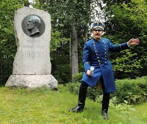 Från kamratföreningen, Svea-ingenjören kom överstelöjtnant, Dag Eckerberg för att berätta om Laxöns historia.