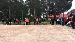 Bykamp i boule i Lillhärdal.Foto: Sussanne Järvinen