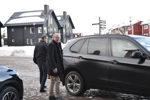 Försvarsminister Peter Hultqvist har sin stora dag under måndagen.