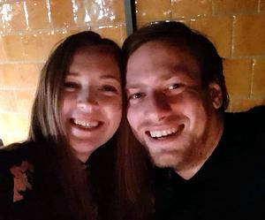 Lina Kjörck Strand och Daniel Viklund träffades delvis via MIssing People.