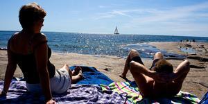Rotsidan. Ett superhett besöksmål under sommaren, hällarna vid havet har blivit något de flesta känner till.