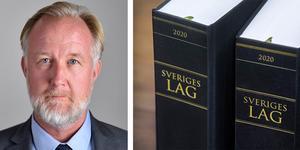Generalsekreteraren i Sveriges advokatsamfund, Mia Edwall Insulander, kommenterar liberalen Johan Pehrson artikel om åtgärder mot advokater som missköter sig. FOTO: Claudio Bresciani / TT