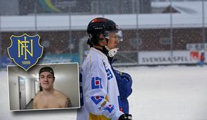 Linus Nilsson ordnade en poäng till Nässjö i och med sitt sena kvitteringsmål.