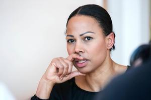 Kulturministern, Alice BAH Kuhnke.
