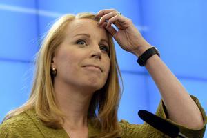 Annie Lööf står fortfarande i centrum av regeringsbildningen. Foto: Anders Wiklund