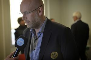 Henrik Lindgren, klubbchef GIF Sundsvall.