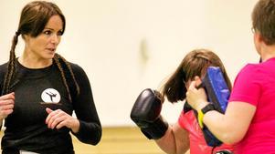 Frida Walter har tidigare hållit kurs i kickboxning och självförsvar i Nynäshamn.
