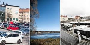 Postenparkeringen, Tiskens strand, Rödbrotomten vid Knutpunkten... Förslagen till placering av konserthus har varit många, och bör utredas. Det anser Jan-Olof Montelius.