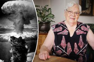 Det är 73 år sedan som bomben föll över japanska Hiroshima - en händelse som Karin Ström väl minns. Foto: TT, Sylvia Kjellberg.