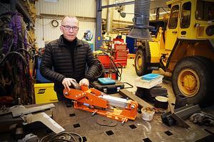 Förutom med konsruktioner och sågverksmaskiner arbetar Stefan Anderssons företag också med hydraulik. Ofta i samarbete med Nordhydraulik.