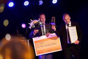 Timrå Golf Academy med Niklas Dahlgren och Peter Forsgren vann klassen Årets nyföretagare/rookie.