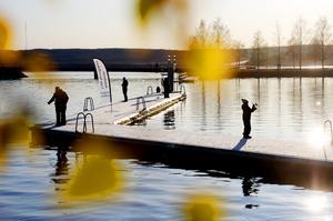 Både på lördagen och söndagen kunde blivande storfiskare prova på olika former av fiske i Surfbukten när  Jämlands unga sportfiskare anordnade en prova på aktivitet.