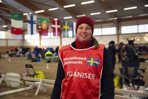 Katarina Mungsgård var tävlingsledare på Vasaritten. Hon brukar själv tävla i distansritt.