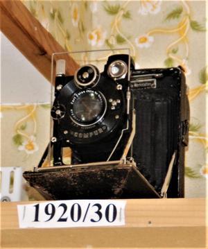 Den äldsta kameran i Jans samling.