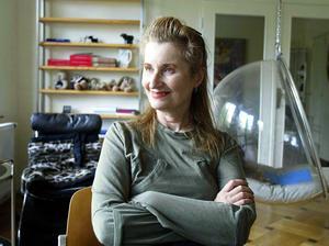 Nobelpristagaren i litteratur Elfriede Jelinek 2004. Foto: Rudi Blaha/AP