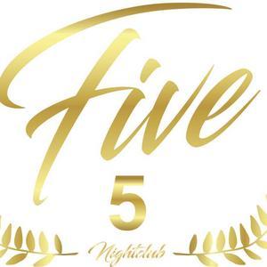 Logga för nattklubben Five. Bild: facebook.com.