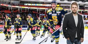 Andreas Hanson tycker till om SSK:s seger mot AIK. Foto: Maxim Thoré / Bildbyrån