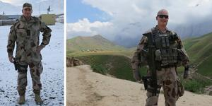 Mikael Åkerström har tjänstgjort i Kosovo och Afghanistan.