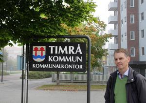 Niklas Edén, gruppledare (C) i Timrå.