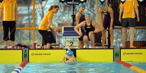 Njurunda slutade tvåa i 4x100 meter frisim för flickor 16. Laget bestod av Hanna Jonasson, Saga Persson, Isabelle Grönlund och Ida Sundholm.