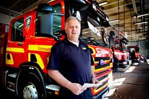 Lars Nyman, räddningschef i Jämtland. Foto: Anneli Åsén